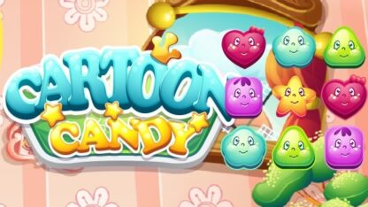 cartoon candy match