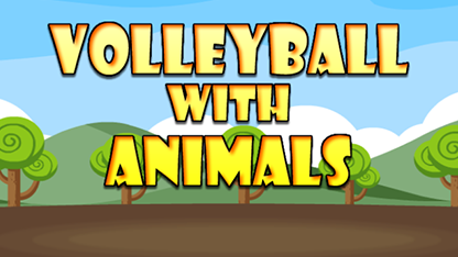 volleyball with animals